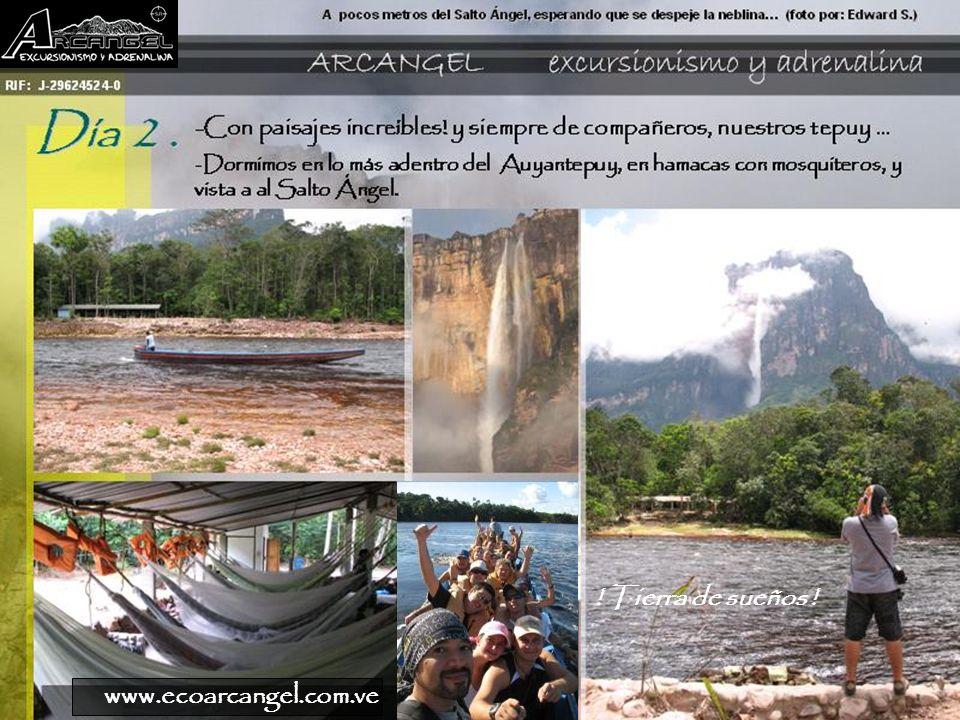 ! Tierra de sueños ! www.ecoarcangel.com.ve