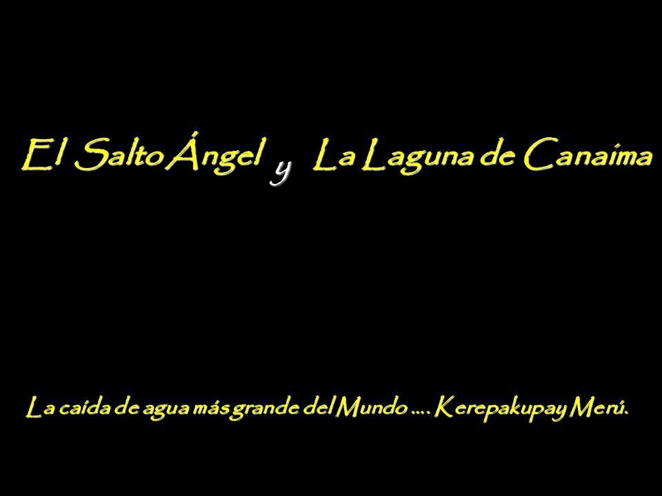 El Salto Ángel La Laguna de Canaima y AGOSTO 2012 V.I.P del miércoles 01, al domingo 05.