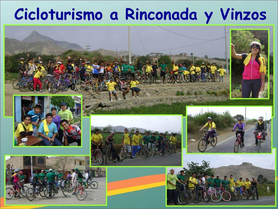 Cicloturismo a Rinconada y Vinzos