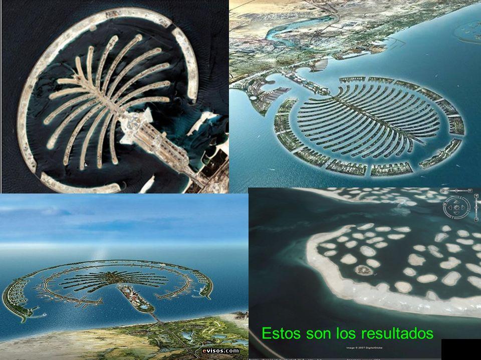 ¿Cómo se construyen estas islas.