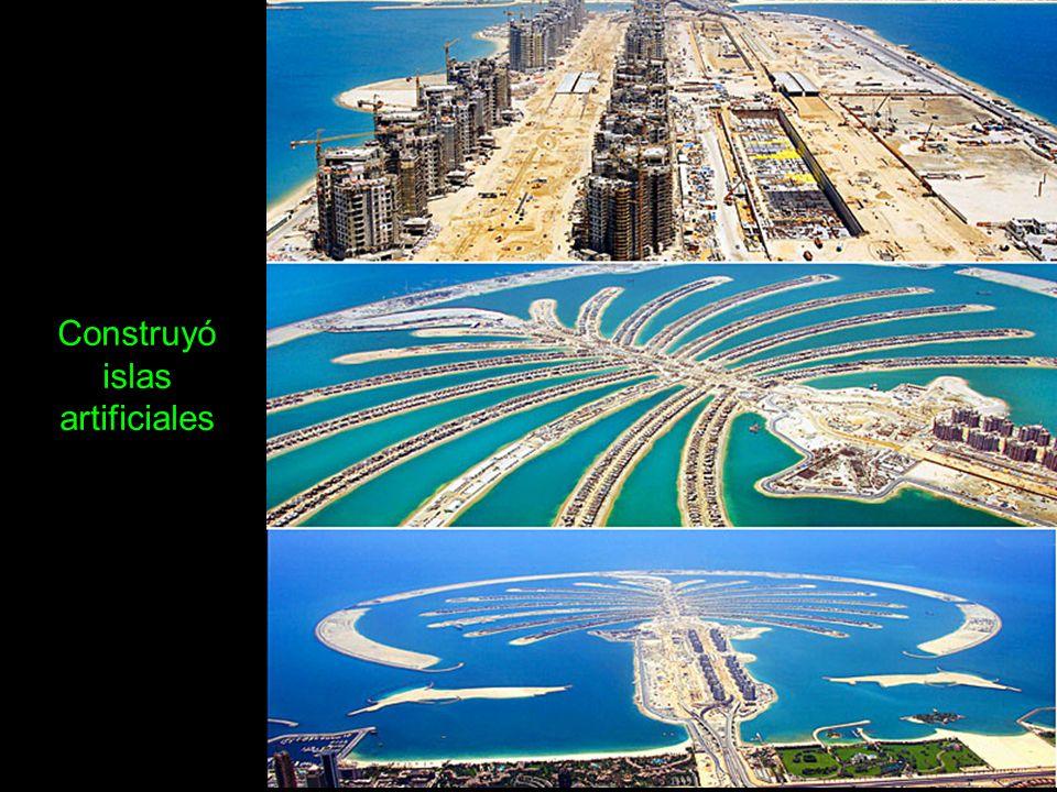 Se sabe que del 15% al 25% de las grúas que hay en el mundo, están trabajando en Dubai.