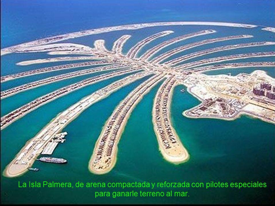 Construyó islas artificiales