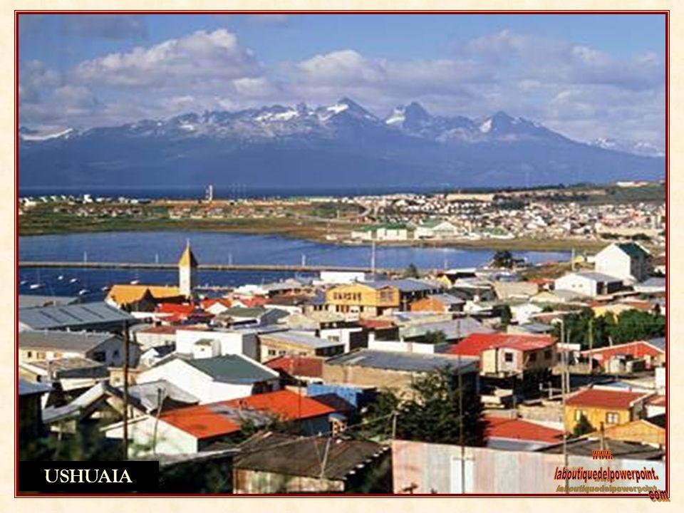 USHUAIA CIUDAD CAPITAL DE TIERRA DEL FUEGO Ushuaia la ciudad más austral del planeta, que nació para asegurar la soberanía es cabecera de turismo y cu