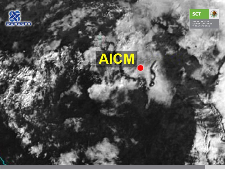 Acercamiento del Valle de México de la Imagen Satelital 11 de Noviembre de 2011 08:45 am