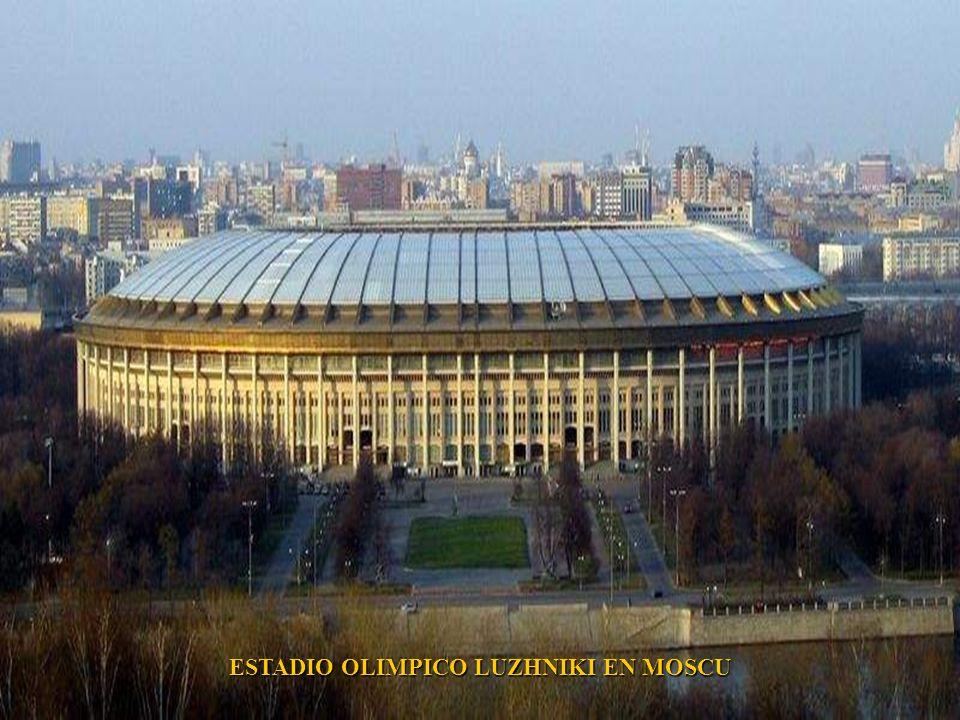 EDIFICIO PRINCIPAL DE LA UNIVERSIDAD ESTATAL DE MOSCU