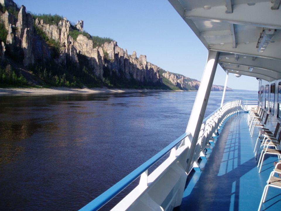 Río Lena, cerca de Yakutsk