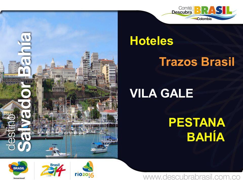 Hoteles Trazos Brasil VILA GALE PESTANA BAHÍA