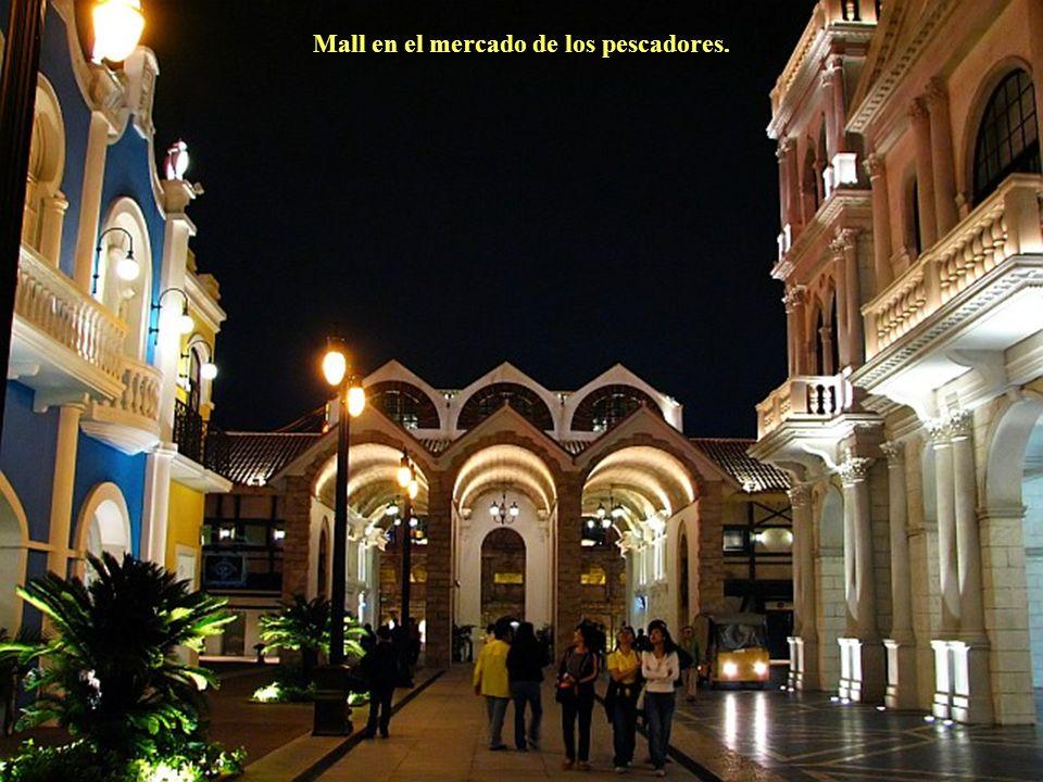 Mercado de los pescadores.