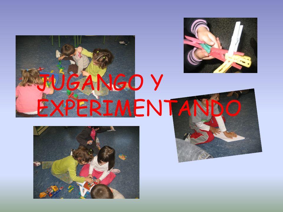 JUGANGO Y EXPERIMENTANDO