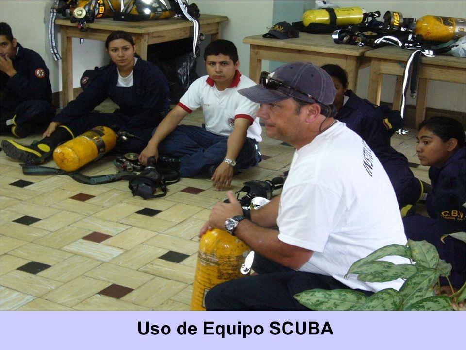 Uso de Equipo SCUBA