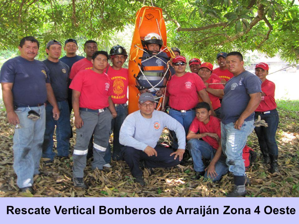 Rescate Vertical Bomberos de Arraiján Zona 4 Oeste