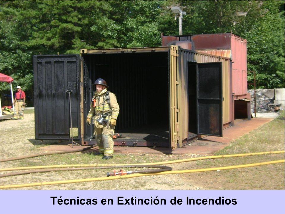 Técnicas en Extinción de Incendios
