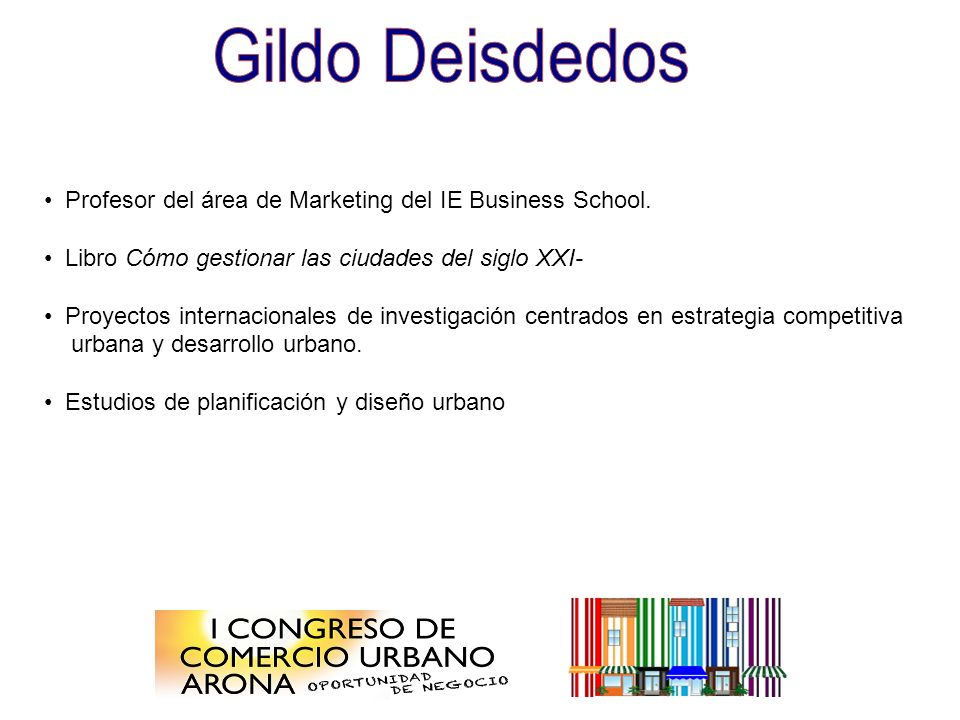 Profesor del área de Marketing del IE Business School.
