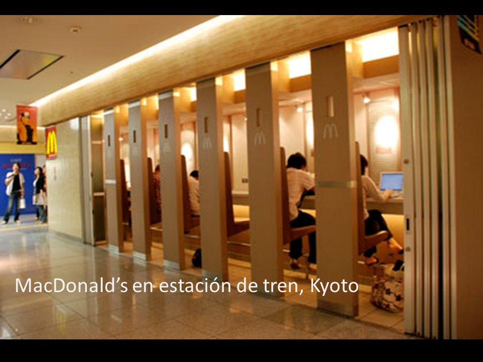 MacDonalds en estación de tren, Kyoto