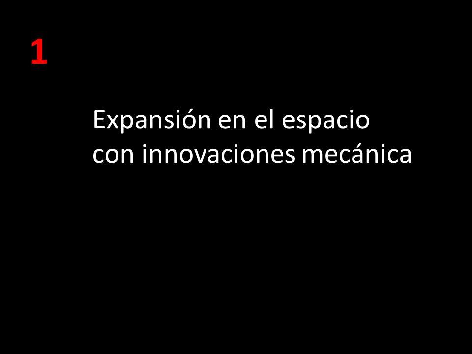 Expansión en el espacio con innovaciones mecánica 1