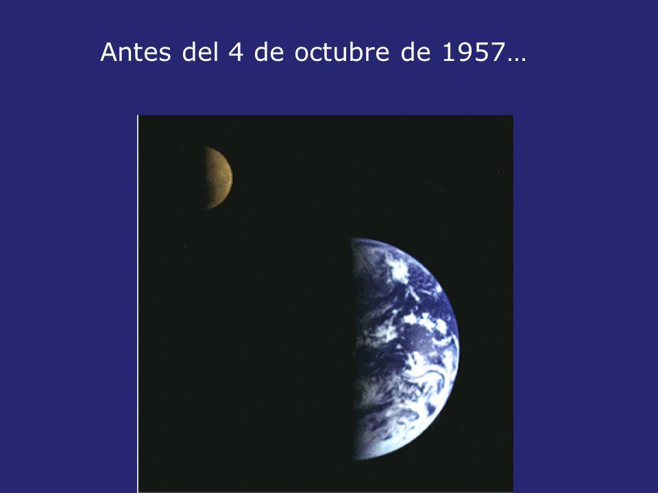 Antes del 4 de octubre de 1957…