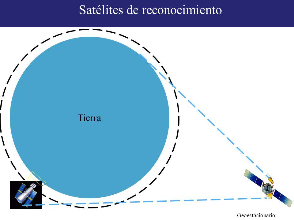Tierra Geoestacionario Satélites de reconocimiento