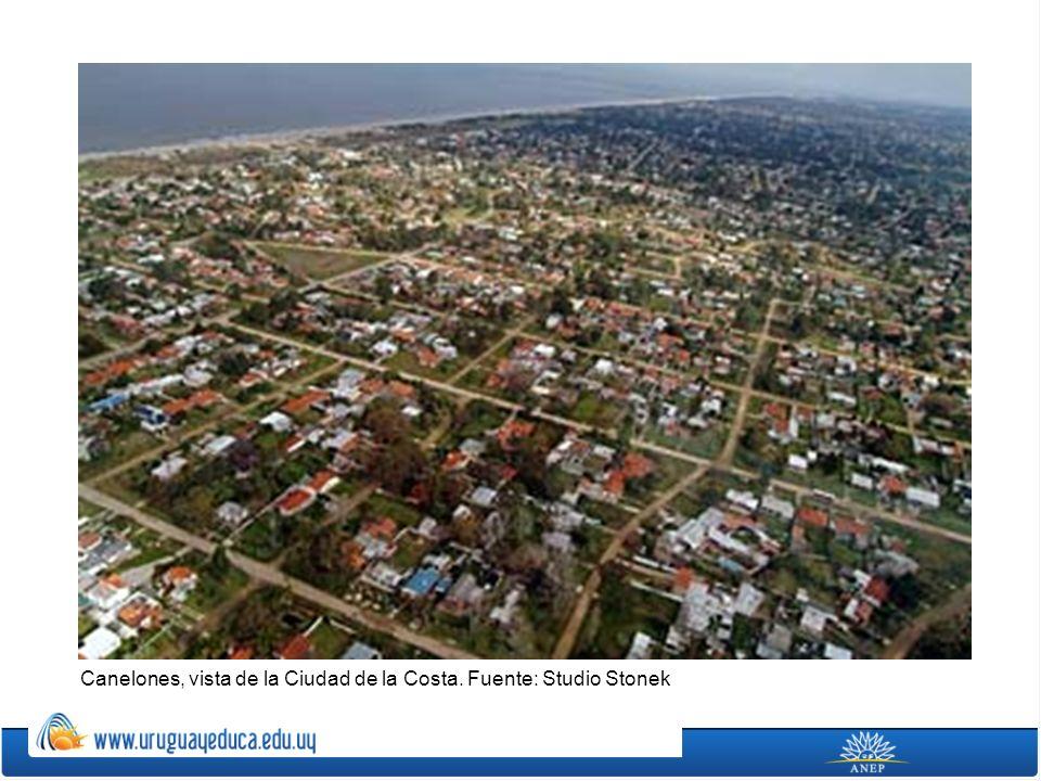 En el departamento de Canelones se ubica el Aeropuerto Internacional de Carrasco y las bases de las Fuerza Aérea Uruguaya.