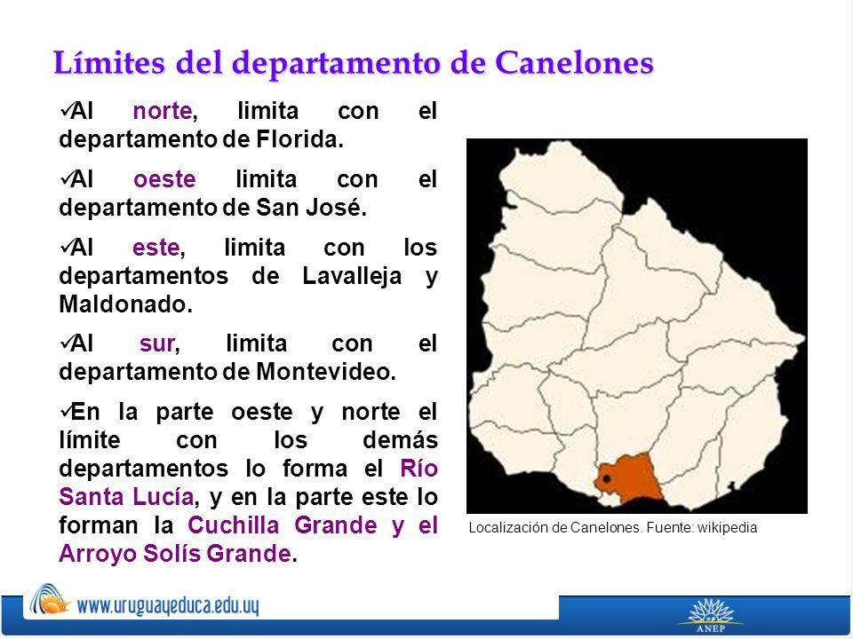 Como todo el sur del actual territorio uruguayo, Canelones fue poblado originalmente por indígenas, particularmente chaná y charrúas.