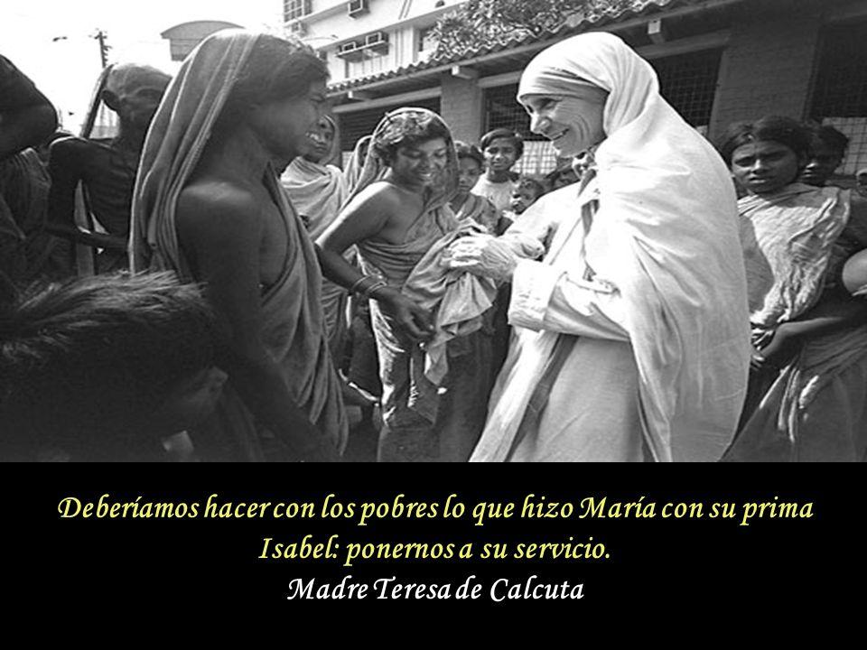 A María, nuestra Madre, le demostraremos nuestro amor trabajando por su Hijo Jesús, con Él y para Él. Madre Teresa de Calcuta A María, nuestra Madre,