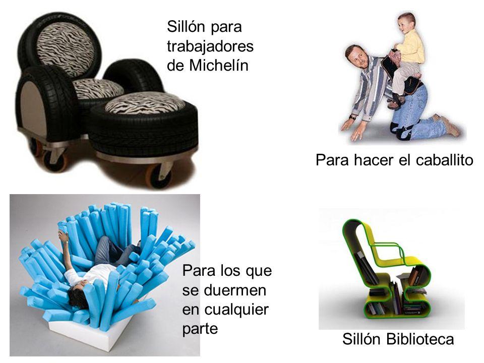 Para hacer el caballito Sillón Biblioteca Sillón para trabajadores de Michelín Para los que se duermen en cualquier parte