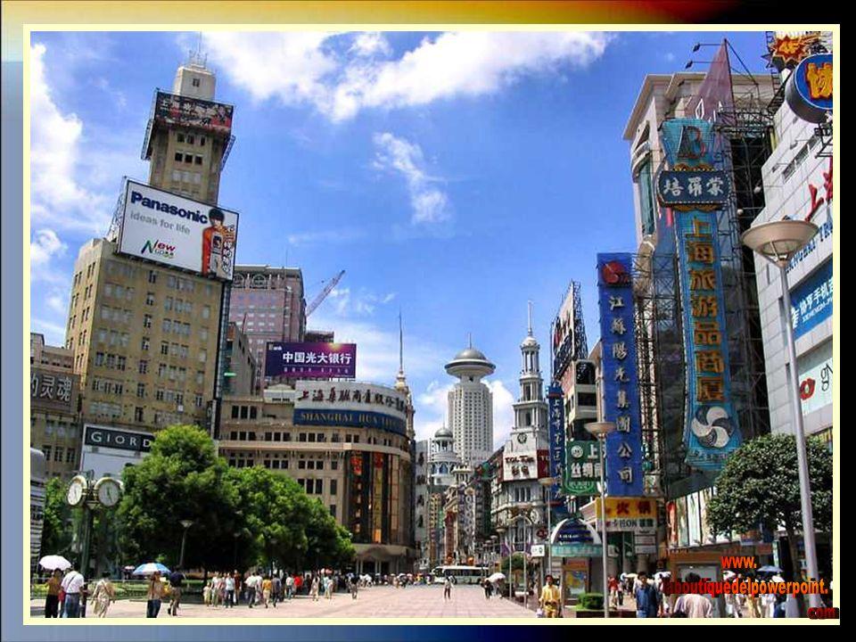 Calle comercial Nanjin