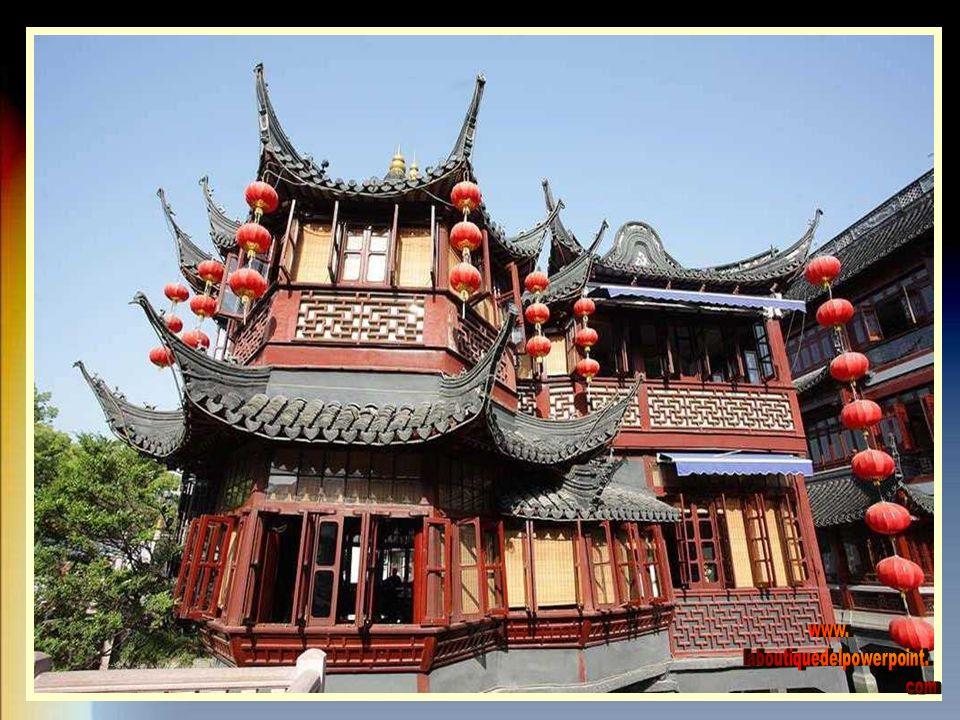 El Jardín Yuyuan de la ciudad de Shanghai, es uno de los jardines más famosos de la Repiblica popular de China.