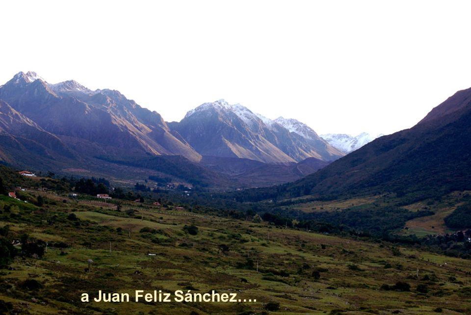 Nuestra Sierra Majestuosa, la que cobijo, a Don Tulio Febres Cordero……