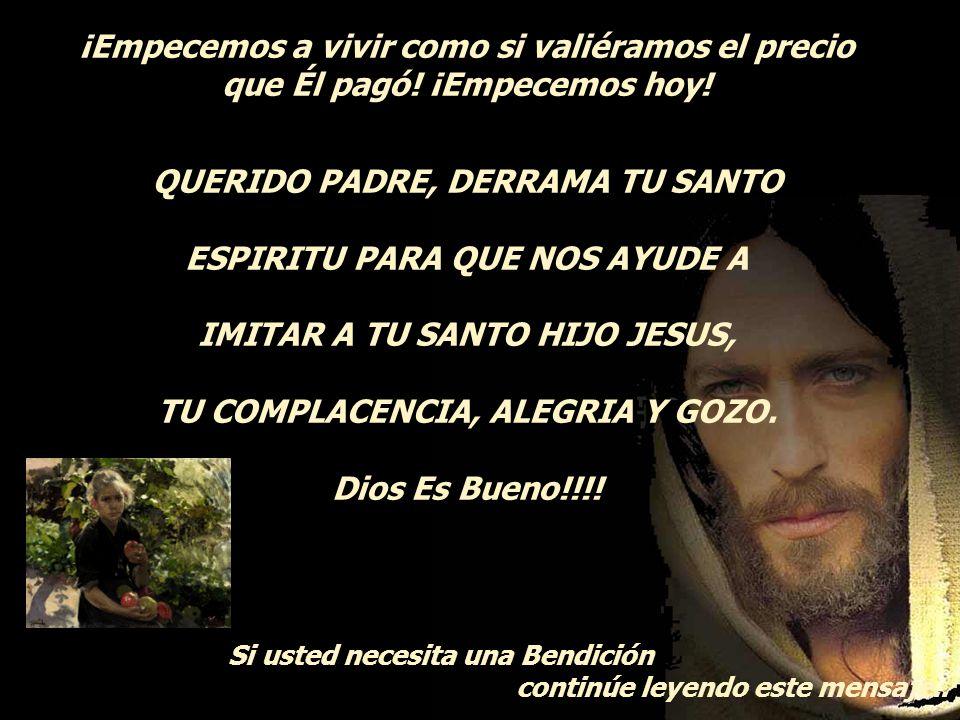 Y a Tí, ¿la gente te confunde con Jesús? Porque ese es nuestro destino, ¿no es así? Parecernos tanto Jesús, que la gente no pueda distinguir la difere