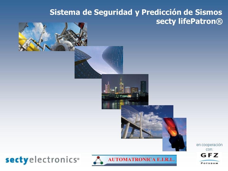 Sistema de Seguridad y Predicción de Sismos secty lifePatron® en cooperación con: