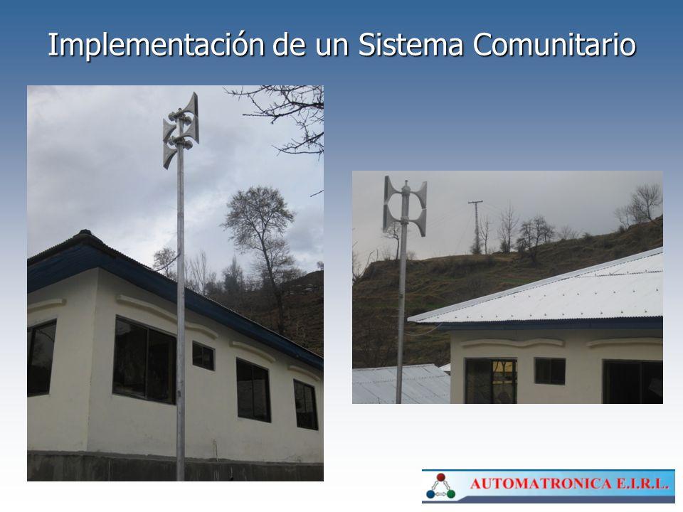 Implementación de un Sistema Comunitario