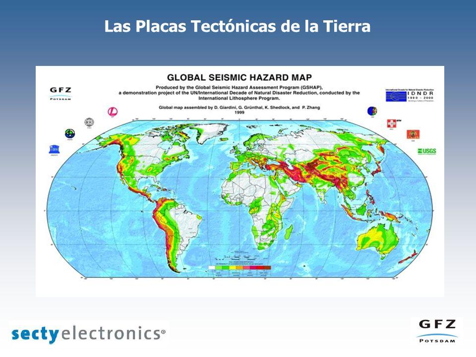 Las Placas Tectónicas de la Tierra