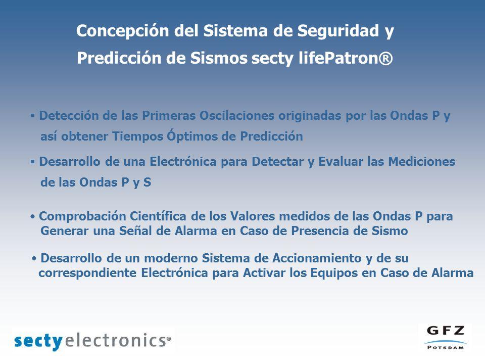 Detección de las Primeras Oscilaciones originadas por las Ondas P y así obtener Tiempos Óptimos de Predicción Desarrollo de una Electrónica para Detec