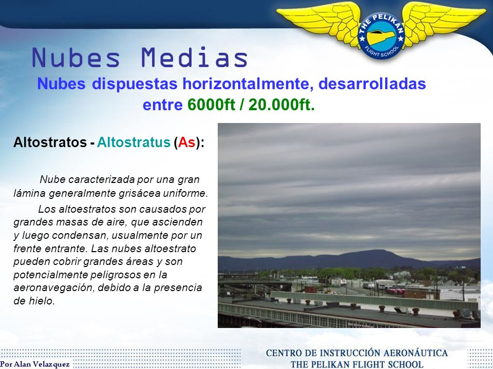 Nubes Bajas Estratocumulos/Stratocumulus (Sc) Nube grande, oscura, de masas redondeadas, en grupos, alineadas, o en ondas.