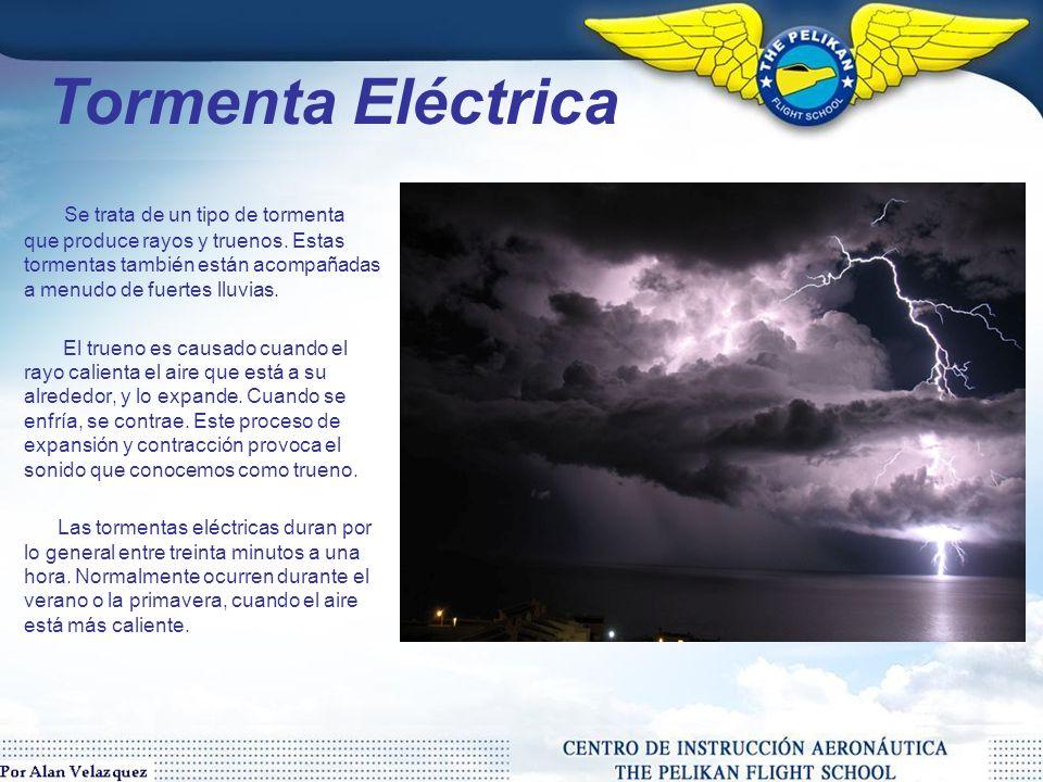 Las tormentas se crean cuando un centro de baja presión se desarrolla con un sistema de alta presión que lo rodean.