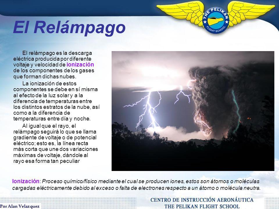 El rayo es una poderosa descarga electrostática natural, producida durante una tormenta eléctrica.