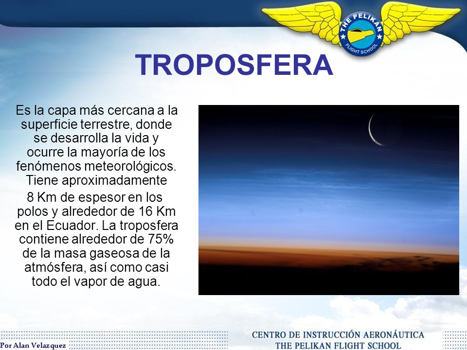 Atmósfera Terrestre Definición: Es la envoltura gaseosa que rodea la Tierra.