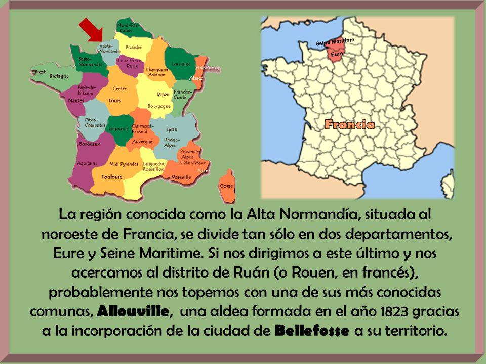 Seine Maritime Eure La región conocida como la Alta Normandía, situada al noroeste de Francia, se divide tan sólo en dos departamentos, Eure y Seine Maritime.