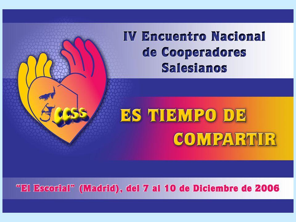 OBJETIVOS Favorecer el conocimiento de la Asociación en el ámbito de España Propiciar el encuentro, la comunicación de experiencias de Asociación Involucrar a los cooperadores salesianos en el servicio a la Asociación