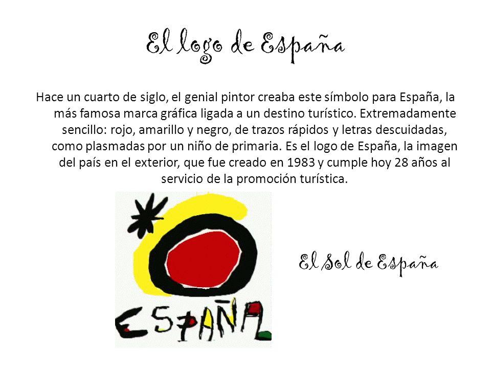 El logo de España Hace un cuarto de siglo, el genial pintor creaba este símbolo para España, la más famosa marca gráfica ligada a un destino turístico.