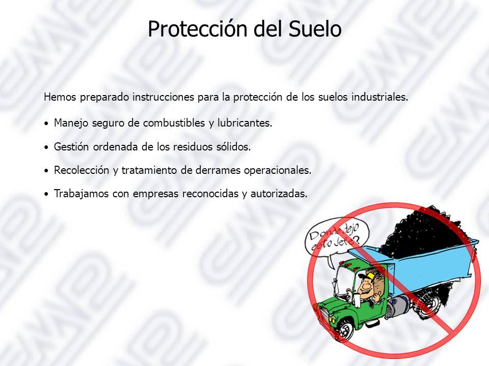 Protección del Suelo Hemos preparado instrucciones para la protección de los suelos industriales.
