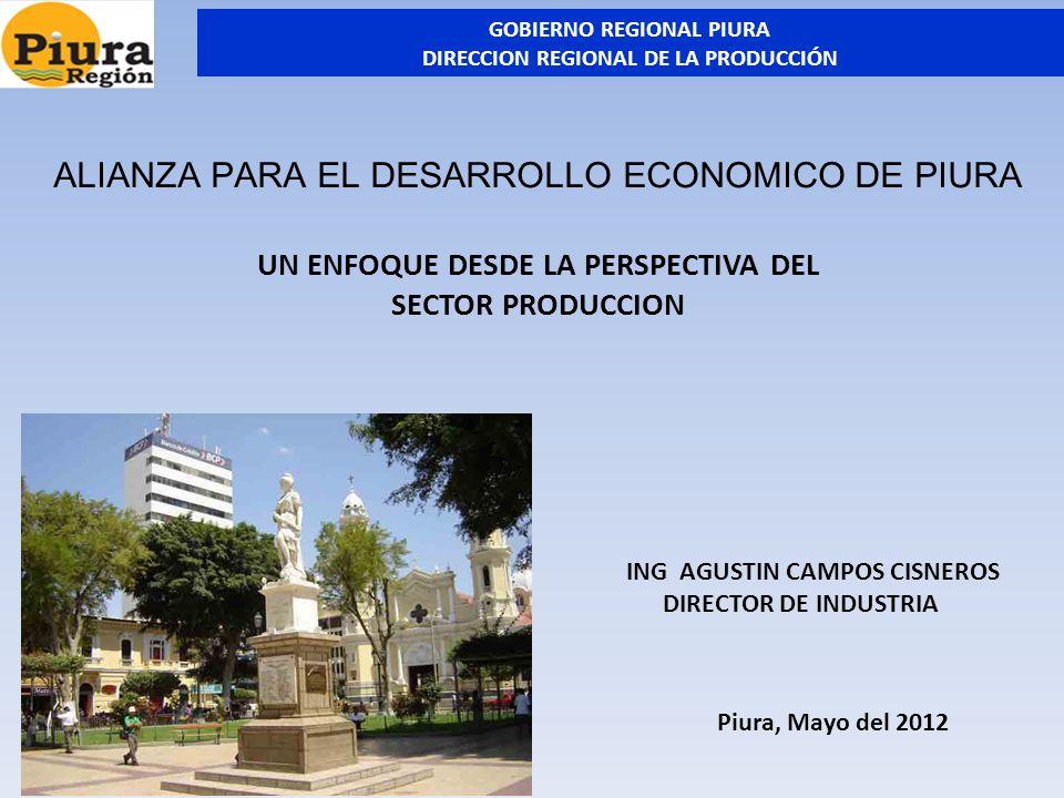 I.- MARCO DE REFERENCIA 1.1.- ASPECTOS GENERALES En los últimos años, la economía peruana viene creciendo a tasas significativas, constituyendo una referencia para los países del mundo y sus Organismos Internacionales.
