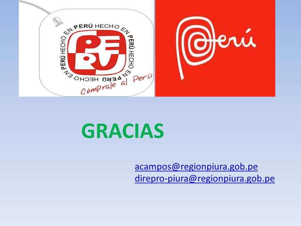 GRACIAS acampos@regionpiura.gob.pe direpro-piura@regionpiura.gob.pe