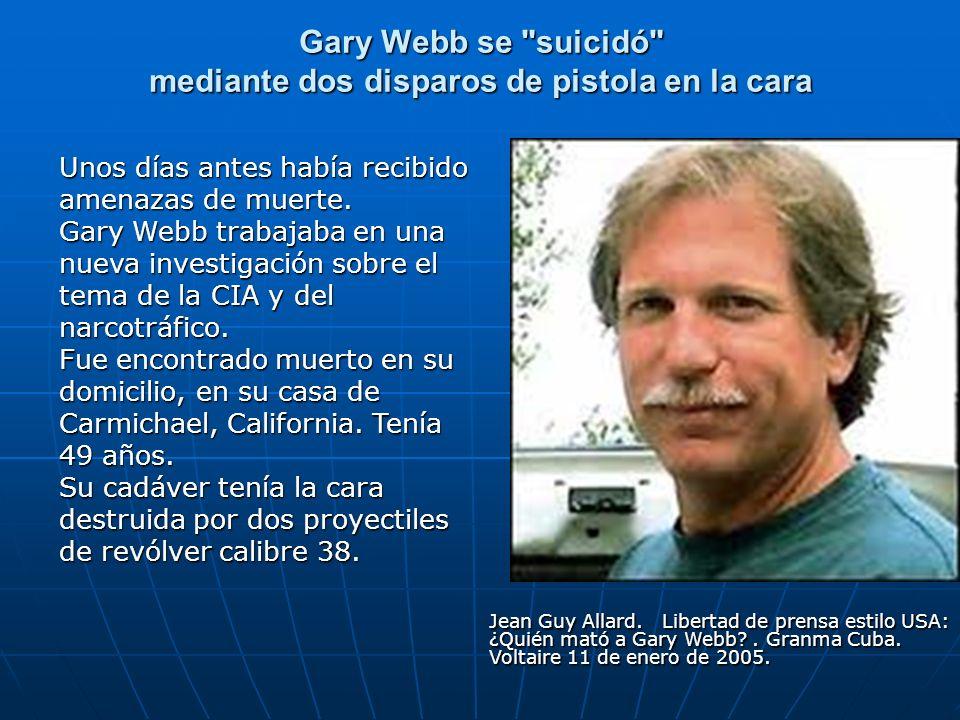 Gary Webb se