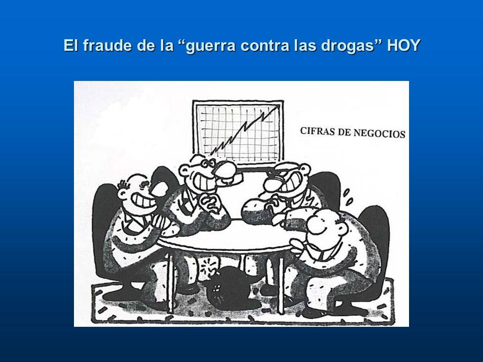 El fraude de la guerra contra las drogas HOY
