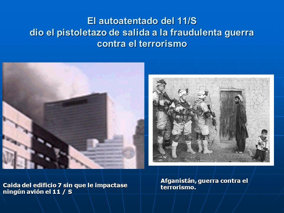 El autoatentado del 11/S dio el pistoletazo de salida a la fraudulenta guerra contra el terrorismo Caida del edificio 7 sin que le impactase ningún av