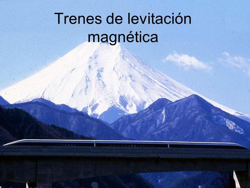 Trenes de levitación magnética