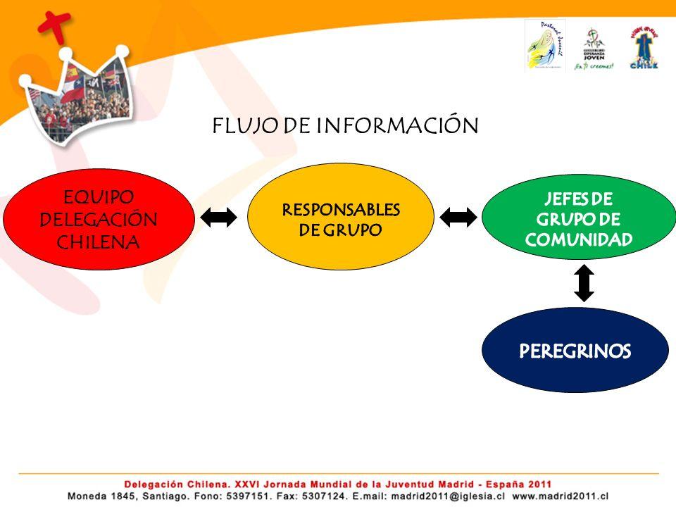 FLUJO DE INFORMACIÓN EQUIPO DELEGACIÓN CHILENA