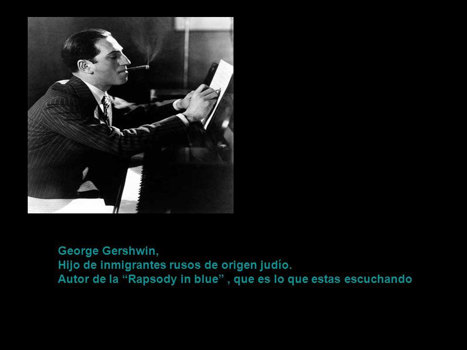¿Para que quiere ser un Ravel de segunda, cuando puede ser un Gershwin de primera? Le dijo el autor de El Bolero al negarse a darle clases.