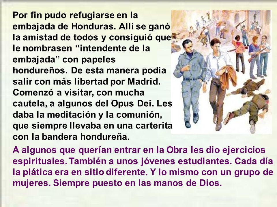 Don Josemaría había formado un buen grupo de jóvenes y hombres leales a la Obra de Dios. Les daba ejercicios y continuaba su formación, esparcidos ya